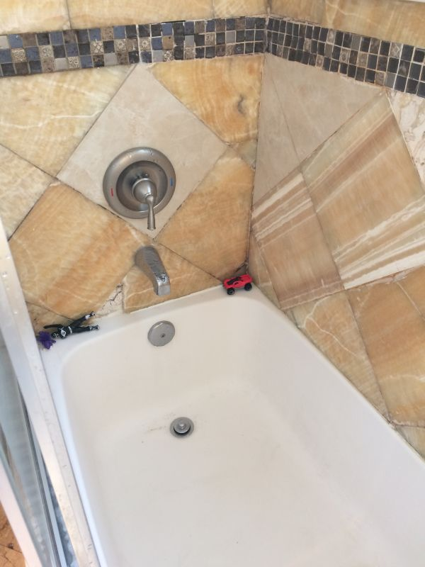 Bath liner in englewood nj new jersey remodeling contractor for Bathtub liner problems