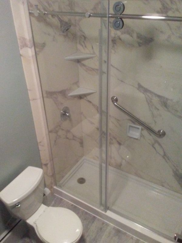 Tub To Shower Conversion In Glenwood Nj New Jersey Remodeling